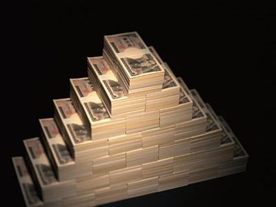 1億円の写真