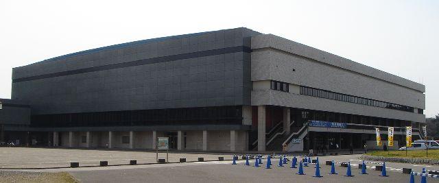 愛知県体育館の写真